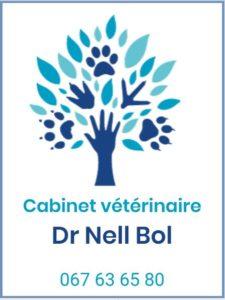 Logo cabinet veterianire Dr Nell Bol