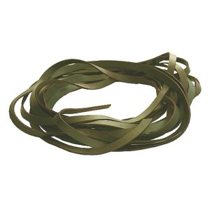 Cuir 20 mm Olive-ecl