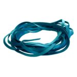 Cuir 20 mm Turquoise-ecl